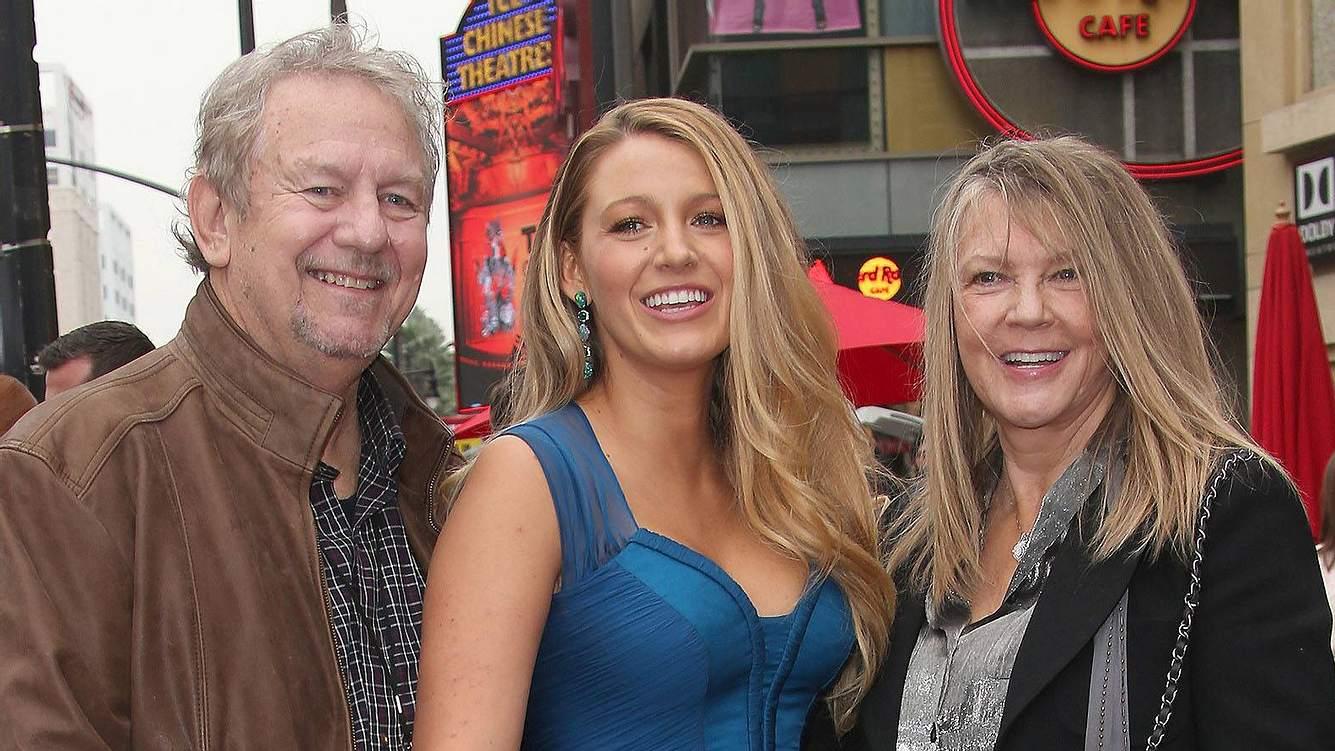 Ernie, Blake und Elaine Lively