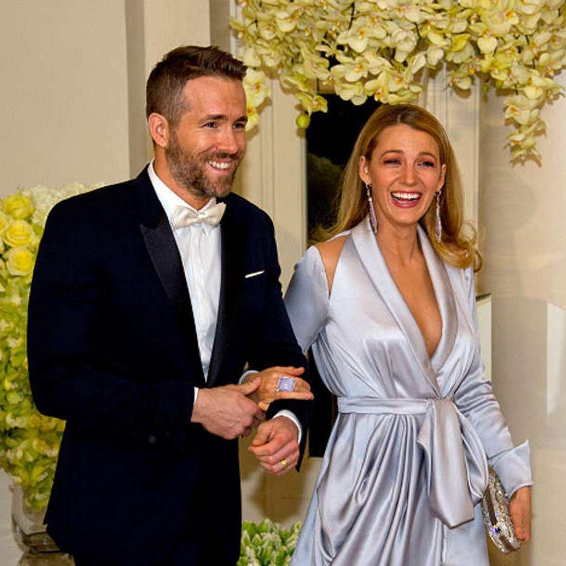 Blake Lively Ryan Reynolds Schwanger Baby