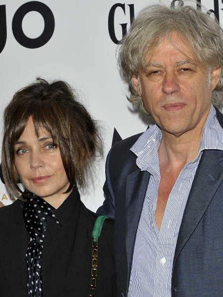 Bob Geldof und siene Freundin Jeanne Marine haben sich verlobt.