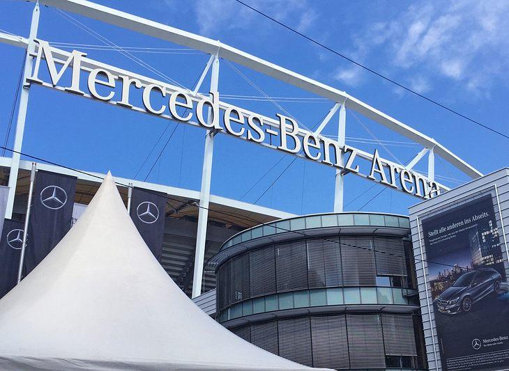 Bomben-Fund beim VfB Stuttgart