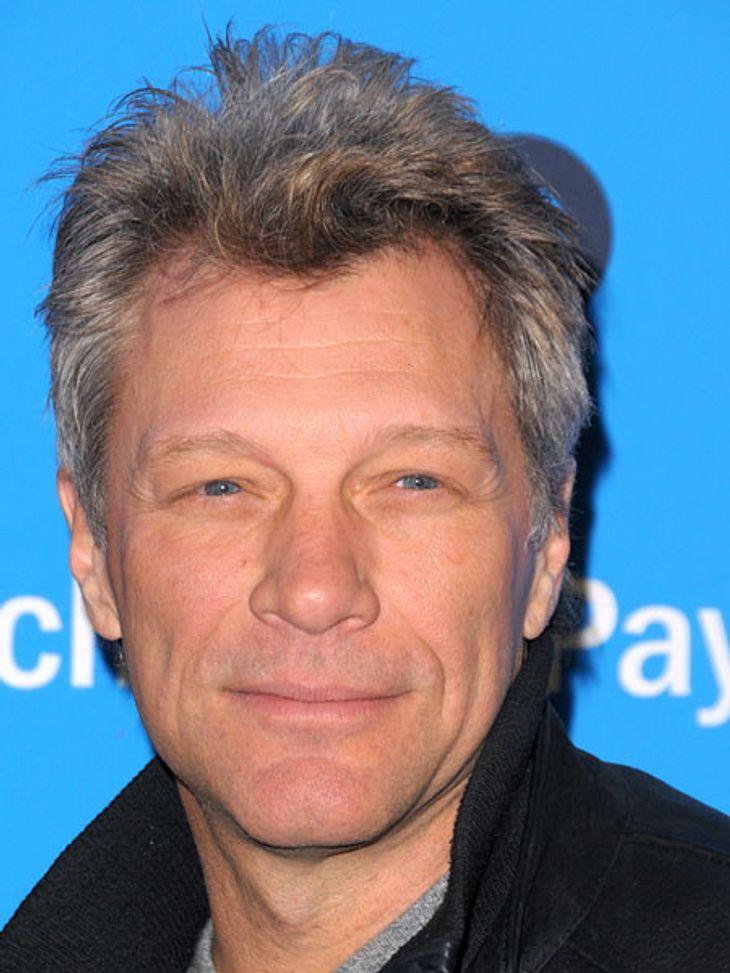 Ganz in Grau: Jon Bon Jovi