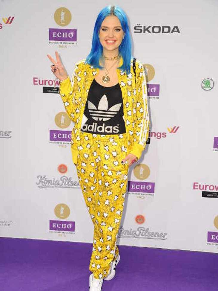 Bonnie Strange auf der Echo-Verleihung.