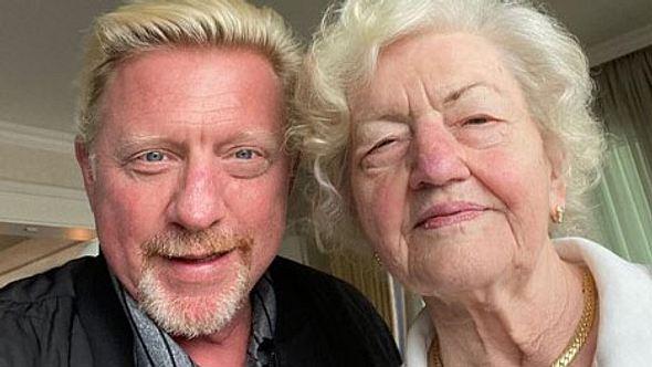 Boris Becker und Mama Elvira - Foto: Instagram/@borisbeckerofficial