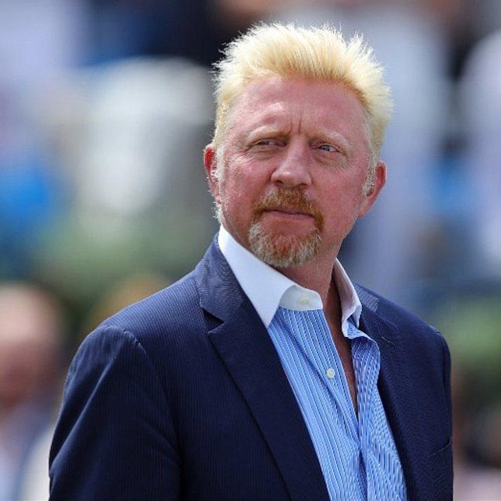 Boris Becker liegt im Krankenhaus