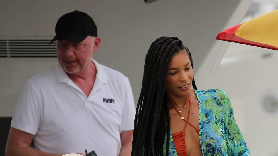 Boris Becker und seine Freundin - Foto: IMAGO/ Lagencia