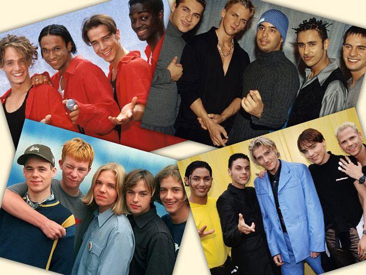 """Kreiiiisch! Was haben wir früher """"Bed & Breakfast"""", """"Echt"""", """"Touché"""" und """"The Boyz"""" angehimmelt. Doch mit Musik haben viele der Teenie-Idole nichts mehr am Hut ...Das machen die Jungs heute! >&"""