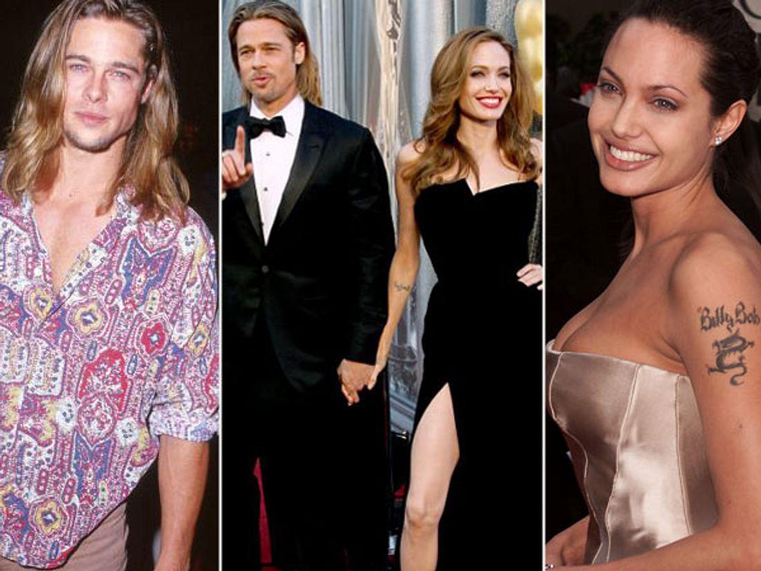 Brad Pitt & Angelina Jolie: Die Geschichte einer Liebe... - Bild 1