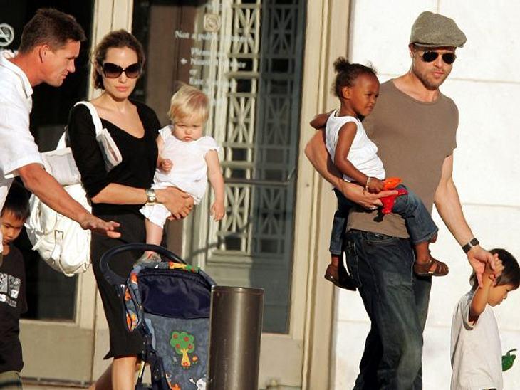 Brad Pitt & Angelina JolieKind Nummer vier im Hause Jolie-Pitt wurde am 15. März 2007 der vietnamesische Junge Pax. Und es sollte noch nicht Schluss sein...