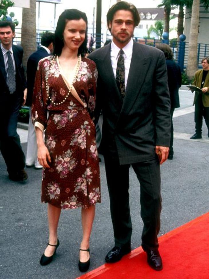 """Brad Pitt & Angelina JolieVon 1990 bis 1993 war Brad Pitt mit Juliette Lewis (38) zusammen. Sie lernten sich bei den Dreharbeiten zu """"Zum Sterben viel zu jung"""" kennen.Angelina Jolie heiratete 1996 zum ersten Mal: Jonny Lee Mil"""