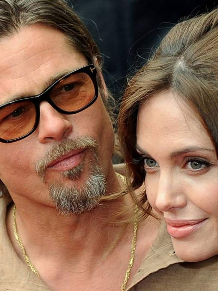 brad pitt f rbt angelina jolie die haare intouch. Black Bedroom Furniture Sets. Home Design Ideas
