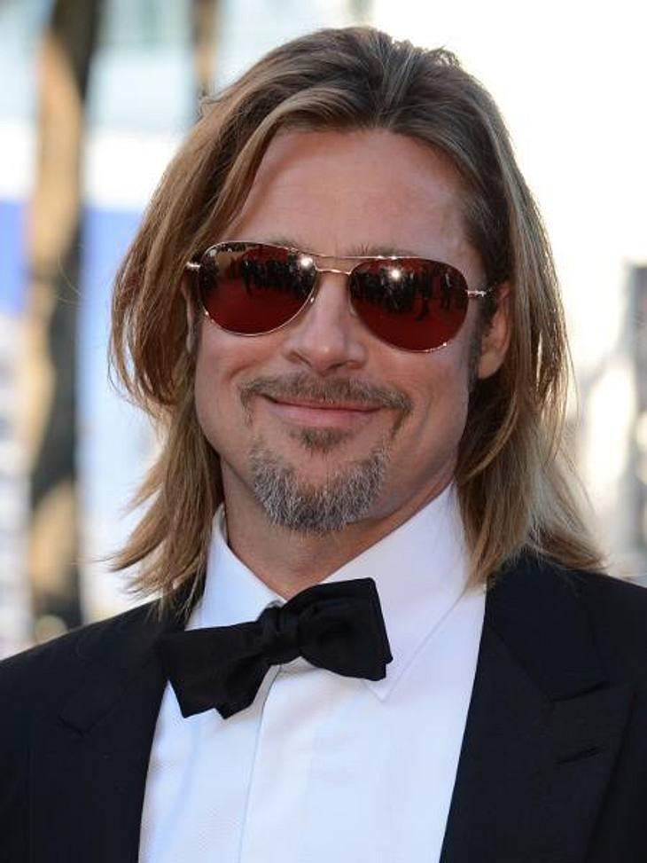 Sexy oder zottelig? Die Stars stehen auf BartGestatten? Bart...äh...Brad Pitt. Mit ein paar Stoppeln im Gesicht wirkt der Schauspieler gleich viel markanter.