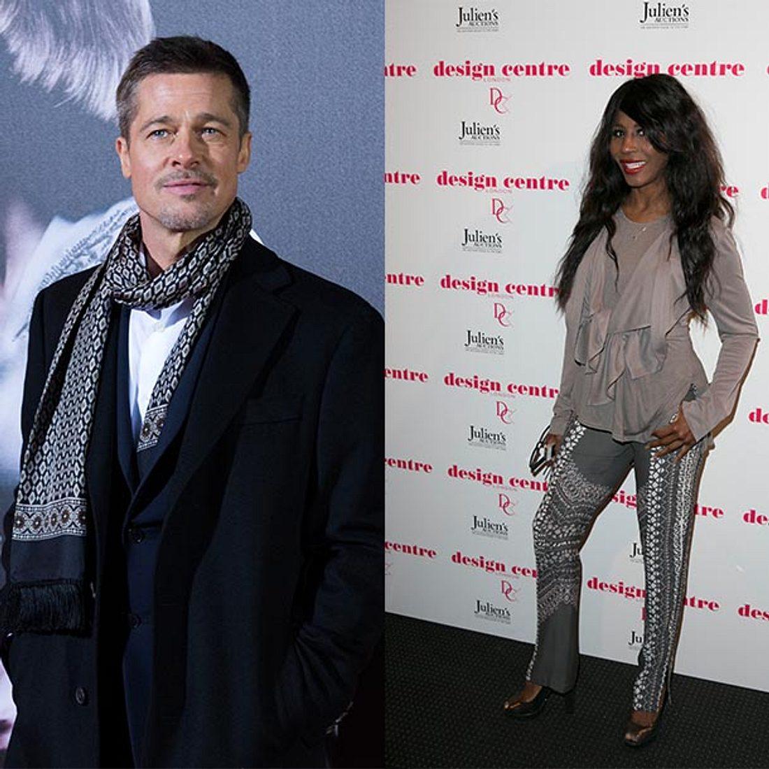 Brad Pitt: Seine Ex-Freundin Sinitta verrät: Er will mich zurück!