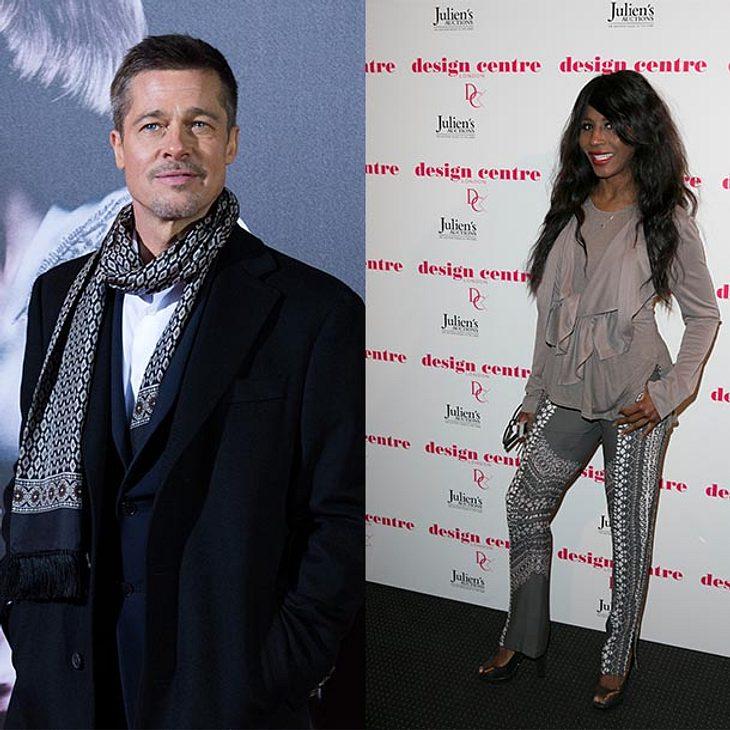 """Brad Pitt: Seine Ex-Freundin Sinitta verrät: """"Er will mich zurück!"""""""