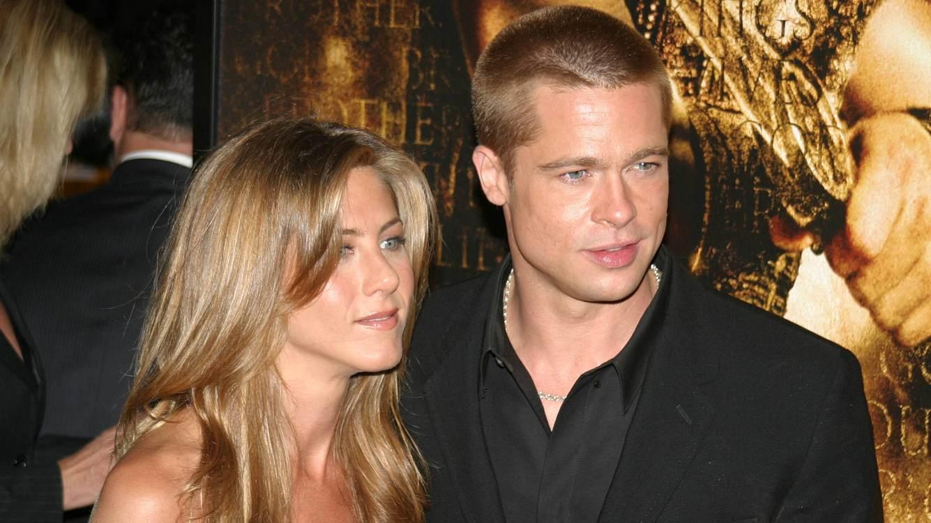 Brad Pitt und Jennifer Aniston Baby