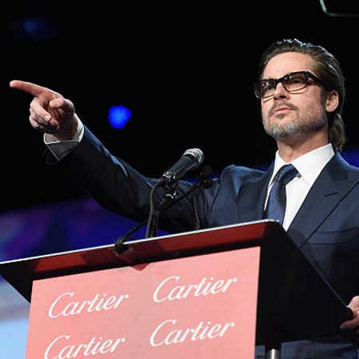Brad Pitt singt Laudatio für David Oyelowo
