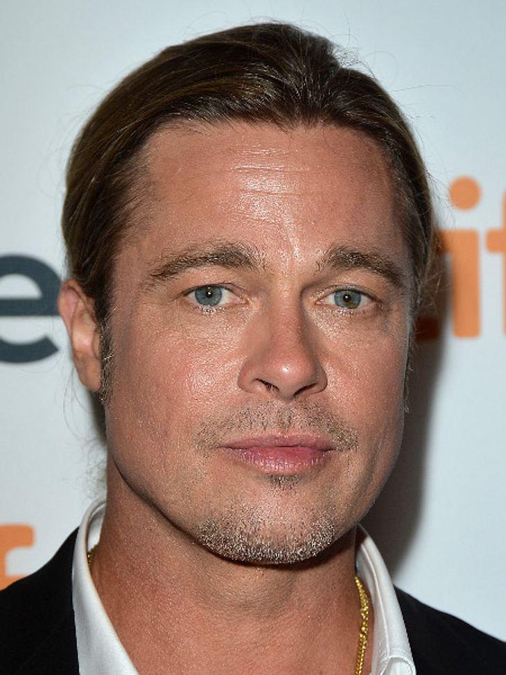 Brad Pitt spart an Seife!