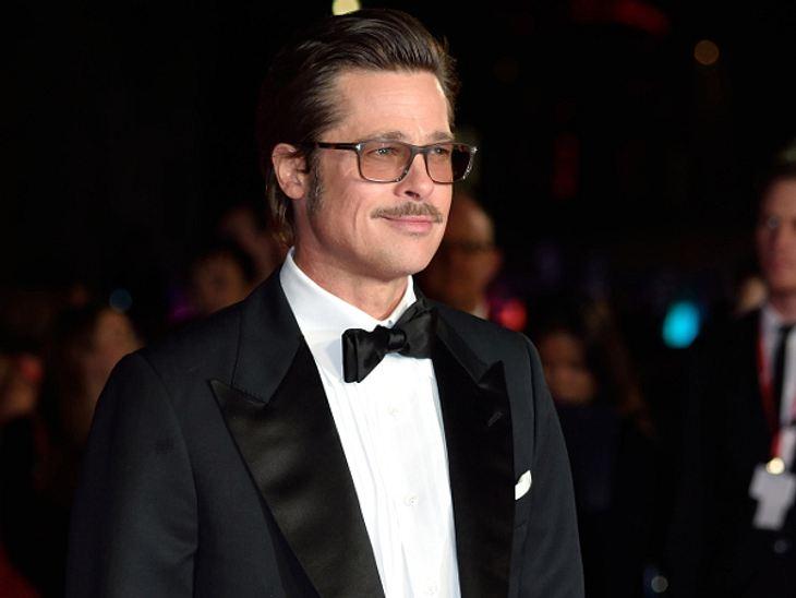 Bei der Filmpremiere sprach Brad Pitt ganz offen über seine Familie