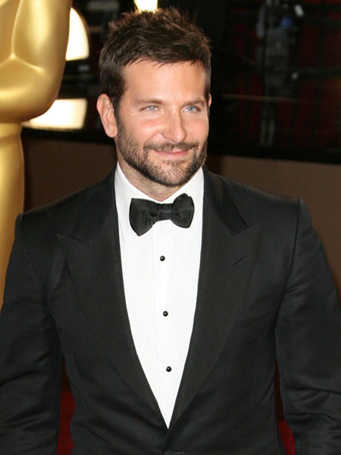 Bradley Cooper war in richtiger Party-Laune.