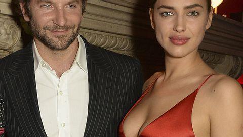 Bradley Cooper und Irina Shayk treten als Paar auf - Foto: getty