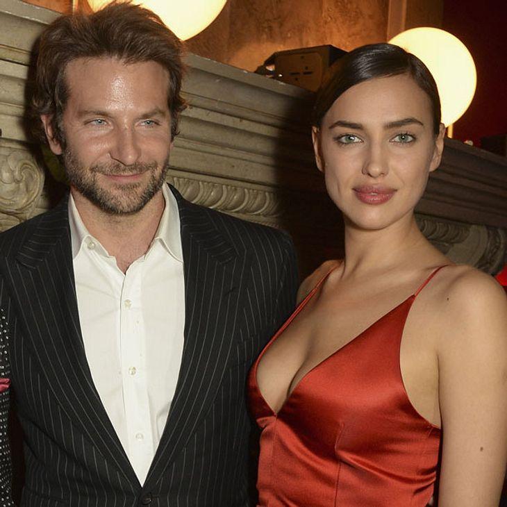 Bradley Cooper und Irina Shayk treten als Paar auf