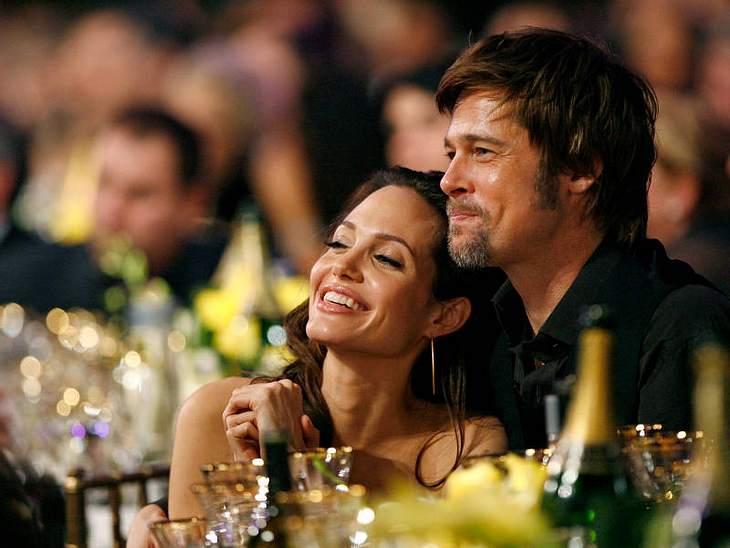 Angelina Jolie und Brad Pitt sind seit 2005 Hollywoods Vorzeigepärchen...