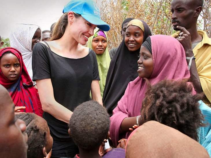 ...humanitärer Arbeit, wie hier an der Grenze von Kenia und Somalia.