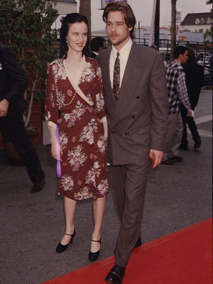 Brads Beuteschema: Prominent! Mit Ex-Freundin Juliette Lewis 1992...