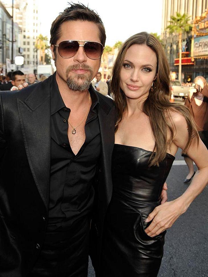 Angelina Jolie und Brad Pitt: Ganz schön schmuck