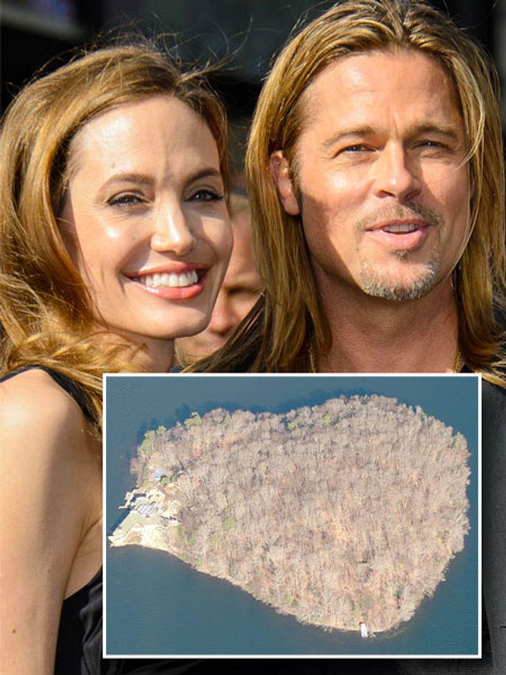 Brad Pitt bekommt eine Insel zum 50. Geburtstag