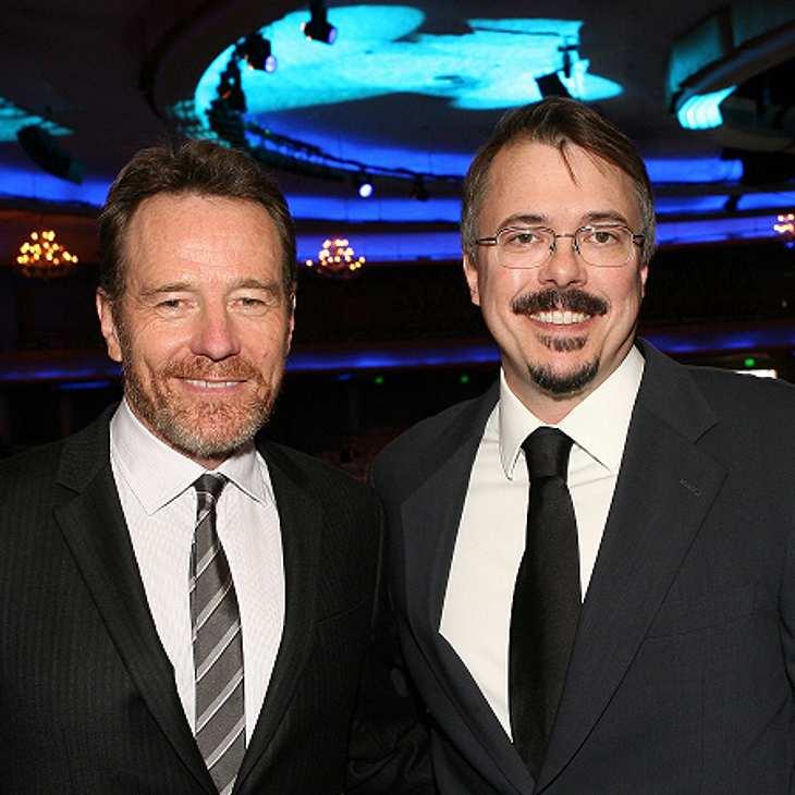 """""""Breaking Bad""""-Hauptdarsteller Bryan Cranston und Produzent Vince Gilligan"""