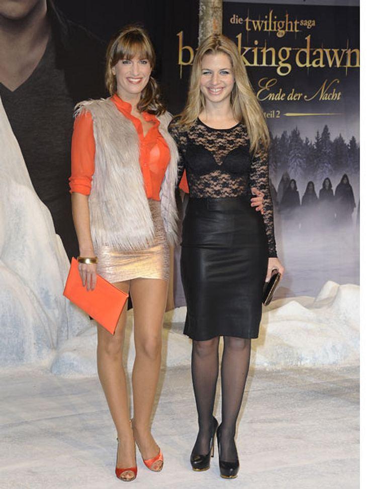 """""""Breaking Dawn 2""""-Premiere in BerlinAuch Susan Sideropoulos und Ex-GZSZ-Kollegin Isabell Horn ließen sich die Premiere nicht entgehen."""