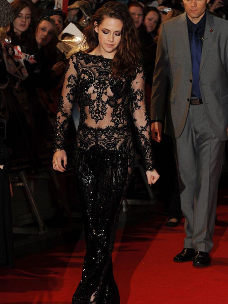 Der Premieren-Look von Kristen StewartAuch in London betörte Kristen Stewart durch Sexyness.