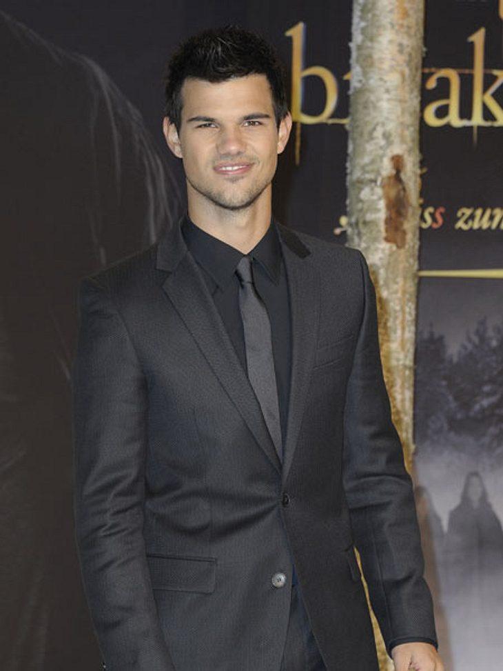 """""""Breaking Dawn 2""""-Premiere in BerlinTaylor Lautner: Zum allerletzten Mal auf einer """"Twilight""""-Premiere. Da machte sich Wehmut breit..."""