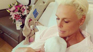 Brigitte Nielsen zeigt ihre Tochter - Foto: Instagram/@realbrigittenielsen