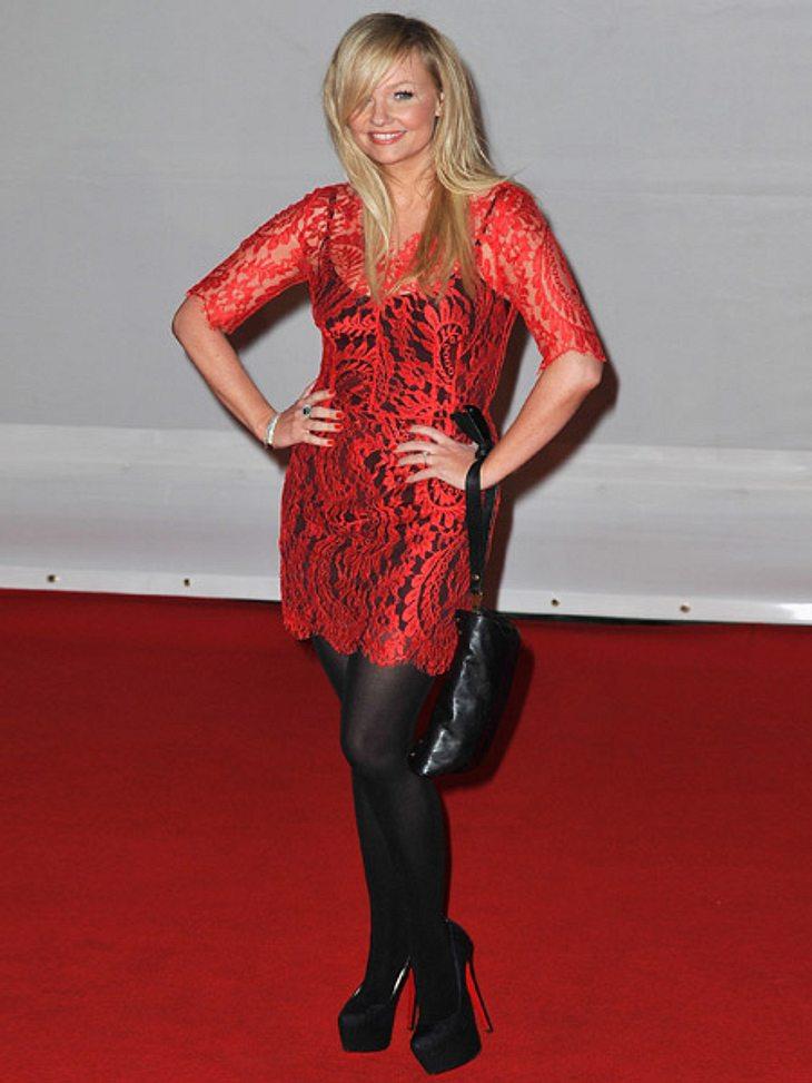 Brit Awards 2012 - die HighlightsEx-Spice Girl Emma Bunton (25) stöckelte auf den höchsten Absätzen des Abends über den Red Carpet der Brit Awards 2012.
