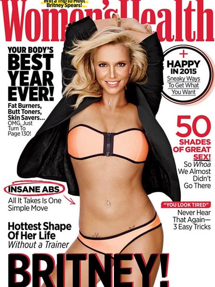 """Britney Spears auf dem """"Women's Health""""-Cover"""