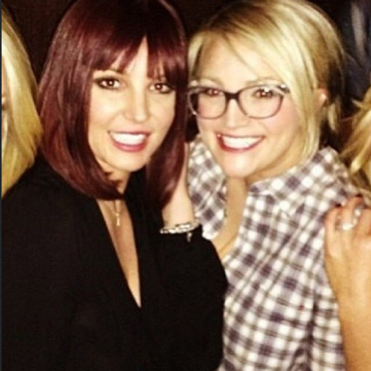 Britney Spears mit Schwester Jamie Lynn