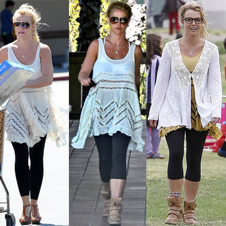 Britney Spears in neuem Lieblings-Outfit.