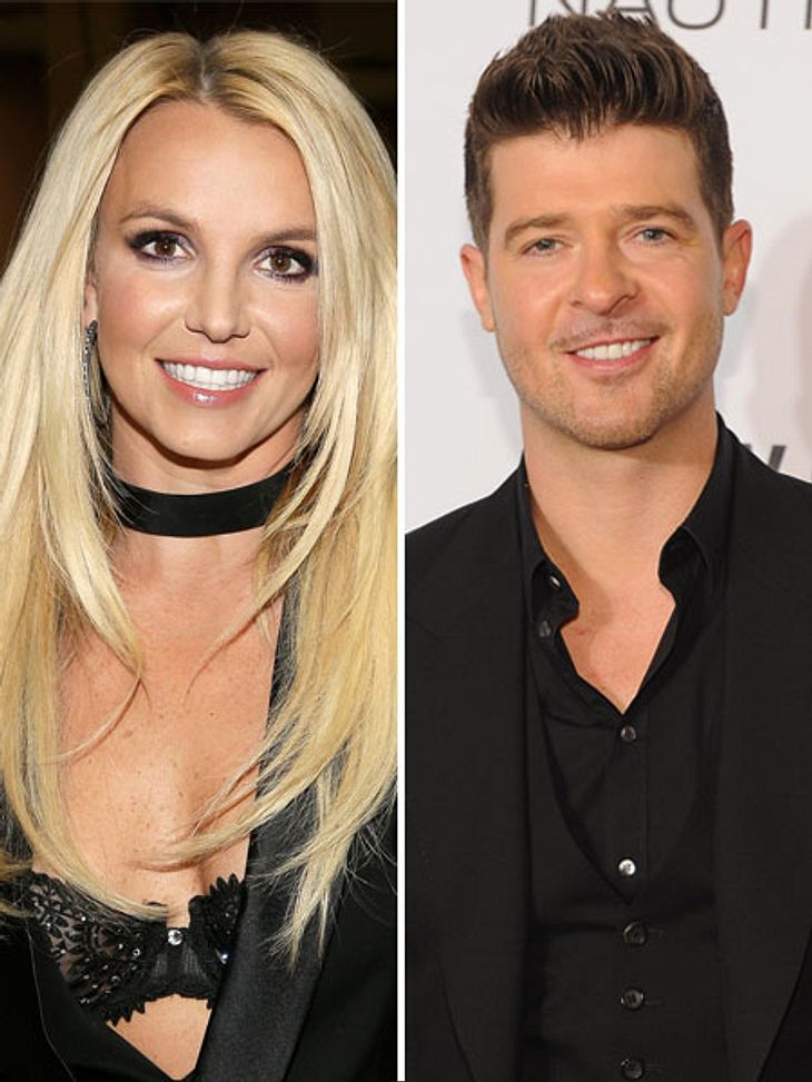 Britney Spears und Robin Thicke sollen eine Affäre gehabt haben.