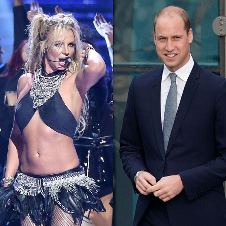 Hatte Prinz William etwas mit Britney Spears?