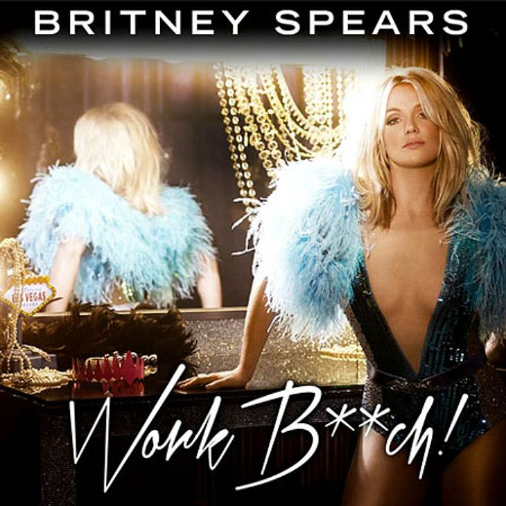"Britney Spears zeigt das Cover von ""Work Bitch"""
