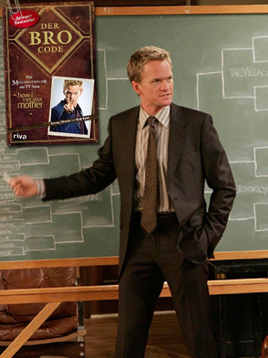 """Der Bro Code enthält alle Regeln aus der TV-Serie """"How I Met Your Mother""""."""