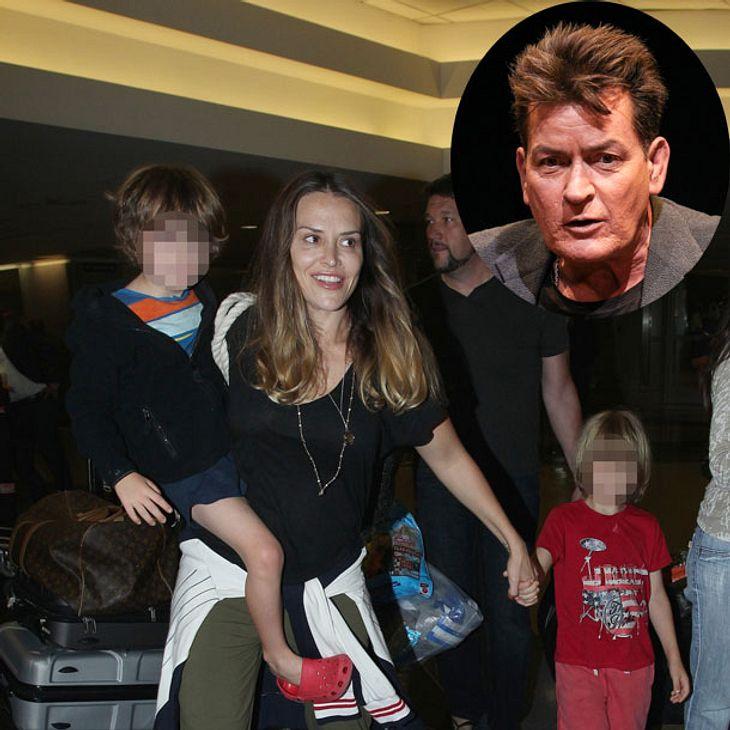 Charlie Sheen: Große Sorge um seine Zwillinge