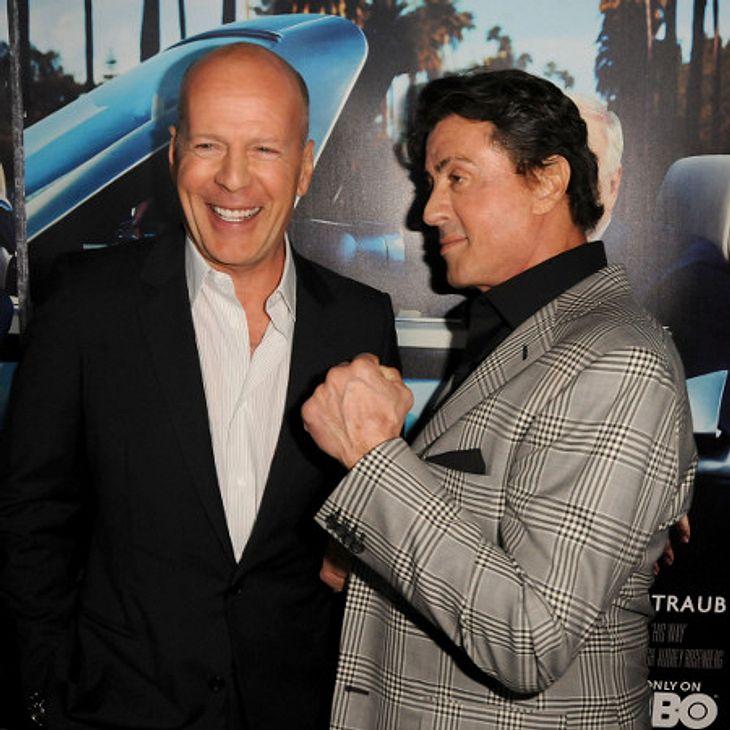 Bruce Willis wurde von Sylvester Stallone gedisst