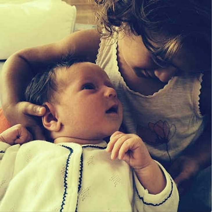 Bruce Willis: Süßes Baby-Bild auf Instagram!
