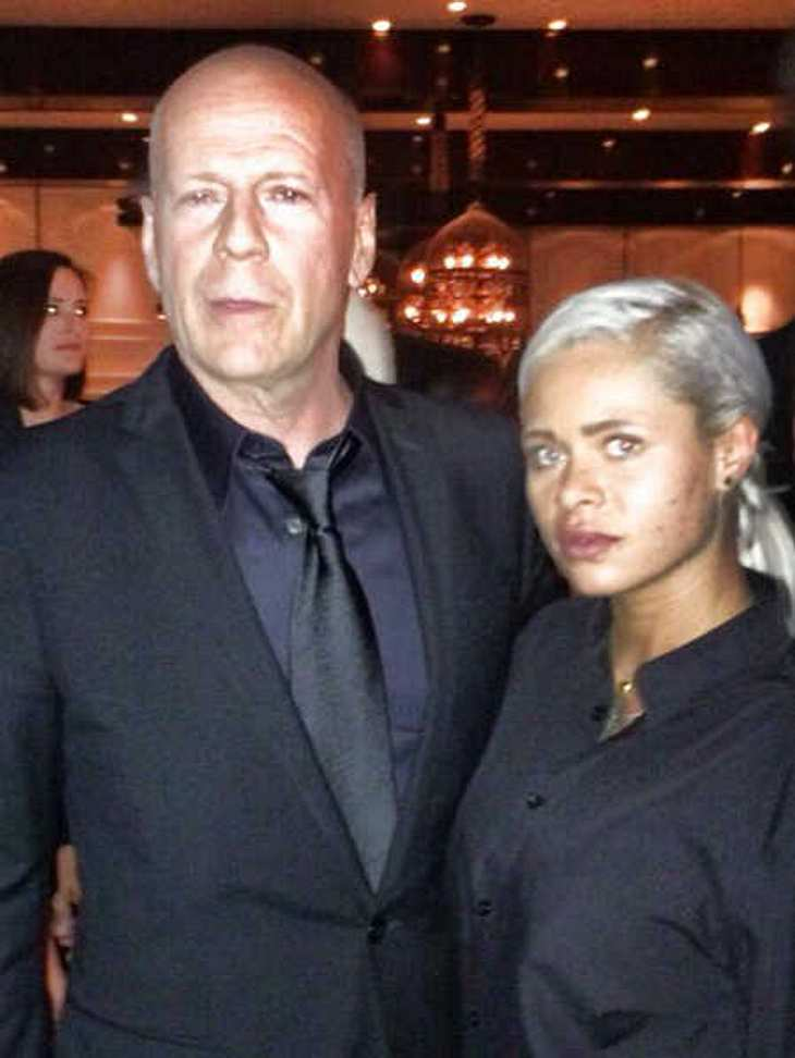 Bruce Willis gab ihr ein fettes Trinkgeld.