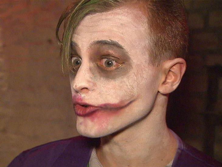 Berlin - Tag & Nacht: die große Halloween-PartyAuch der Joker darf auf der wilden Sause nicht fehlen.