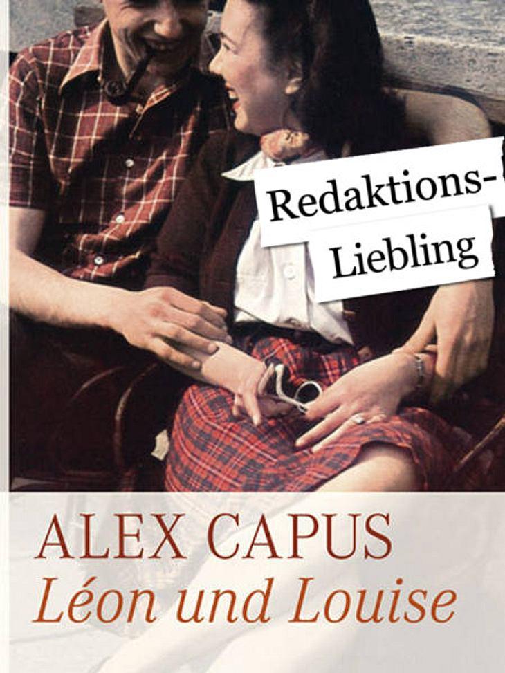 """""""Léon und Louise"""" von Alex CapusDas meint Ingrid von der WUNDERWEIB.de-Redaktion:""""Gleich vorweg gebe ich zu: Nein, ich habe es noch nicht komplett gelesen. Aber schon die ersten Seiten des Buchs reichen aus, um es guten Gewi"""