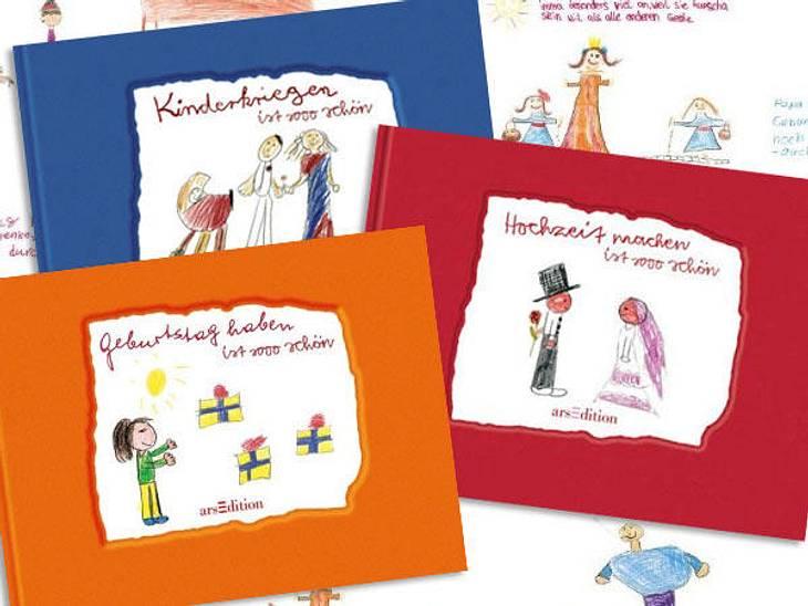 """""""Kinder kriegen ist sooo schön"""", """"Hochzeit machen ist sooo schön"""" und """"Geburtstags haben ist sooo schön"""" Alena von der WUNDERWEIB.de-Redaktion:Diese Bücher sind ideal als kleine Beilage für ein Geschenk zur Hoc"""