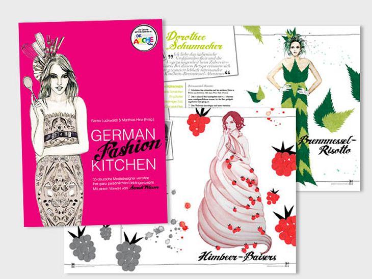"""""""German Fashion Kitchen""""Buchtipp von Marieke von der WUNDERWEIB.de-Redaktion:Dieses Buch landete nach Entdecken sofort auf meinem Weihnachtswunschzettel. Mode + Kochen = Haben-Wollen! 55 deutsche Designer, wie Dorothee Schumacher,"""